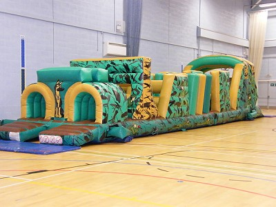 Army Assault Course Indoors