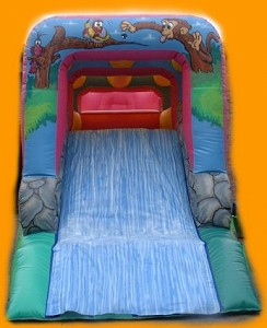 Jungle Fun Run Slide End