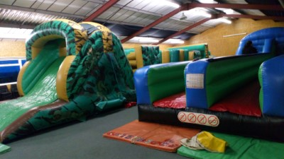View Bungee Run & Army Assault Course