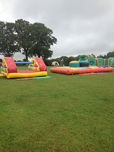 Combat Gladiators with Army Assault Course and Pillow Bash