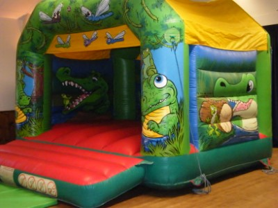 Crocs In The Swamp Bouncy Castle