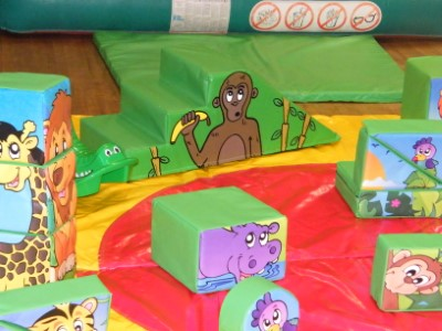 Jungle Soft Play Shapes