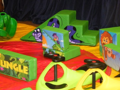 Jungle Soft Play Shapes & Kids Karts