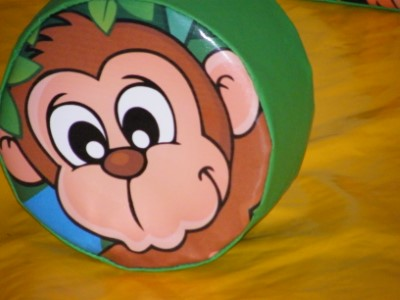 Jungle Soft Play Shape Monkey