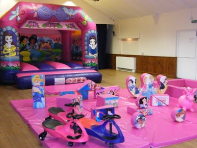 Fairytales Princesses Bouncy Castle & Soft Play