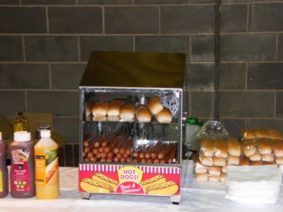 View Fun Food Station Hot Dogs Buns Relishes