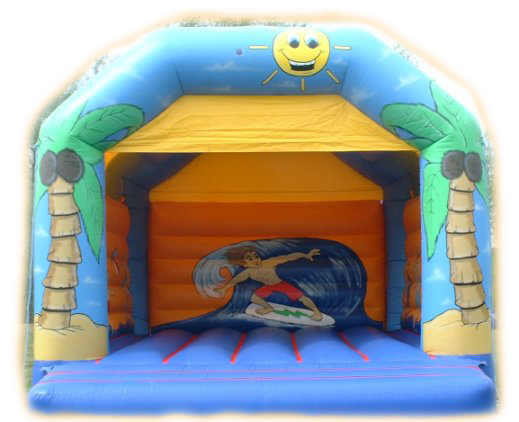 Hawaiian Adult Bouncy Castle
