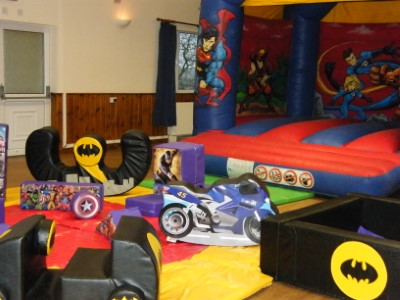 Heroes Bouncy Castle & Soft Play