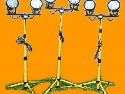 Hire Halogen Lights on tripods