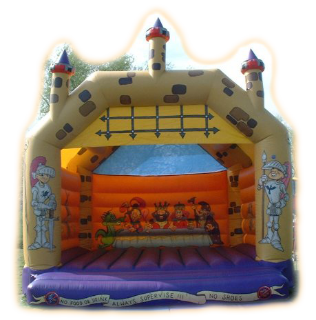 Medieval Adult Bouncy Castle