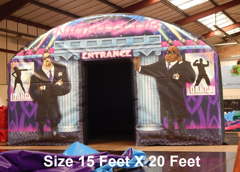 INFLATABLE NIGHTCLUB ADULTS