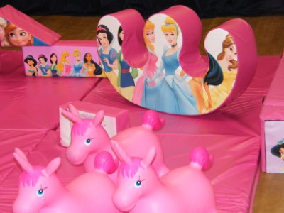 Princesses In The Palace Soft Play Shapes