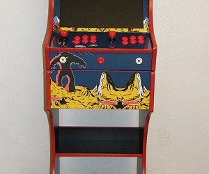 Retro Space Invaders 2 Players Arcade Machine