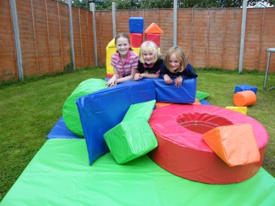 Soft Play build and be creative